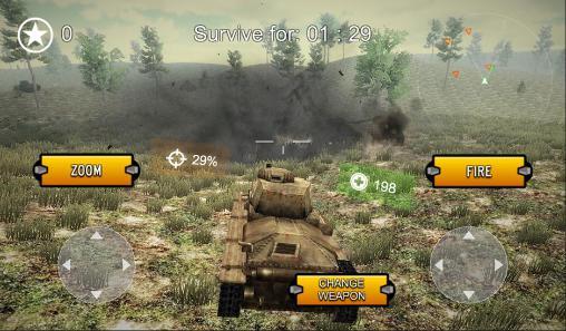 دانلود رایگان بازی هیجان انگیز Tank world alpha برای اندروید