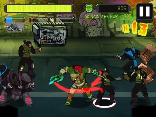 دانلود بازی لاک پشت های نینجا ( Ninja Turtles) برای اندروید