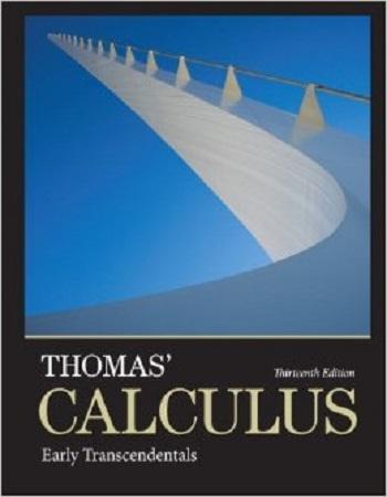دانلود نسخه جدید کتاب ریاضی توماس Thomas Calculus 13edition