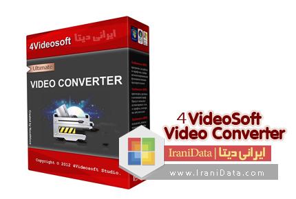 دانلود 4VideoSoft Video Converter v6.0.6 – نرم افزار تبدیل فرمت های ویدیویی