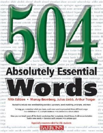 دانلود کتاب 504 واژه ضروری زبان انگلیسی با ترجمه فارسی