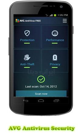 دانلود AVG Antivirus Security (آنتی ویروس AVG) برای اندروید