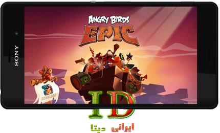 دانلود بازی Angry Birds Epic v1.4.5 + MOD برای اندروید