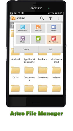 دانلود برنامه Astro File Manager (مدیریت فایل) برای اندروید