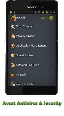 دانلود برنامه آنتی ویروس Avast Antivirus & Security برای اندروید