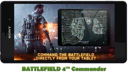 دانلود بازی BATTLEFIELD 4™ Commander برای اندروید (بتلفیلد 4)