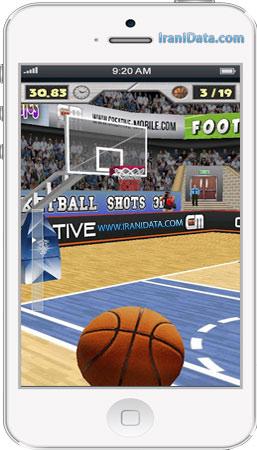 دانلود Basketball Shots 3D برای اندروید – بازی بسکتبال اندروید