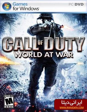 دانلود بازی Call of Duty World at War – ندای وظیفه جهان در جنگ
