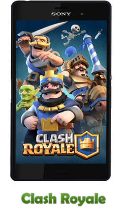 دانلود بازی Clash Royale v1.3.2 برای اندروید – کلاش رویال