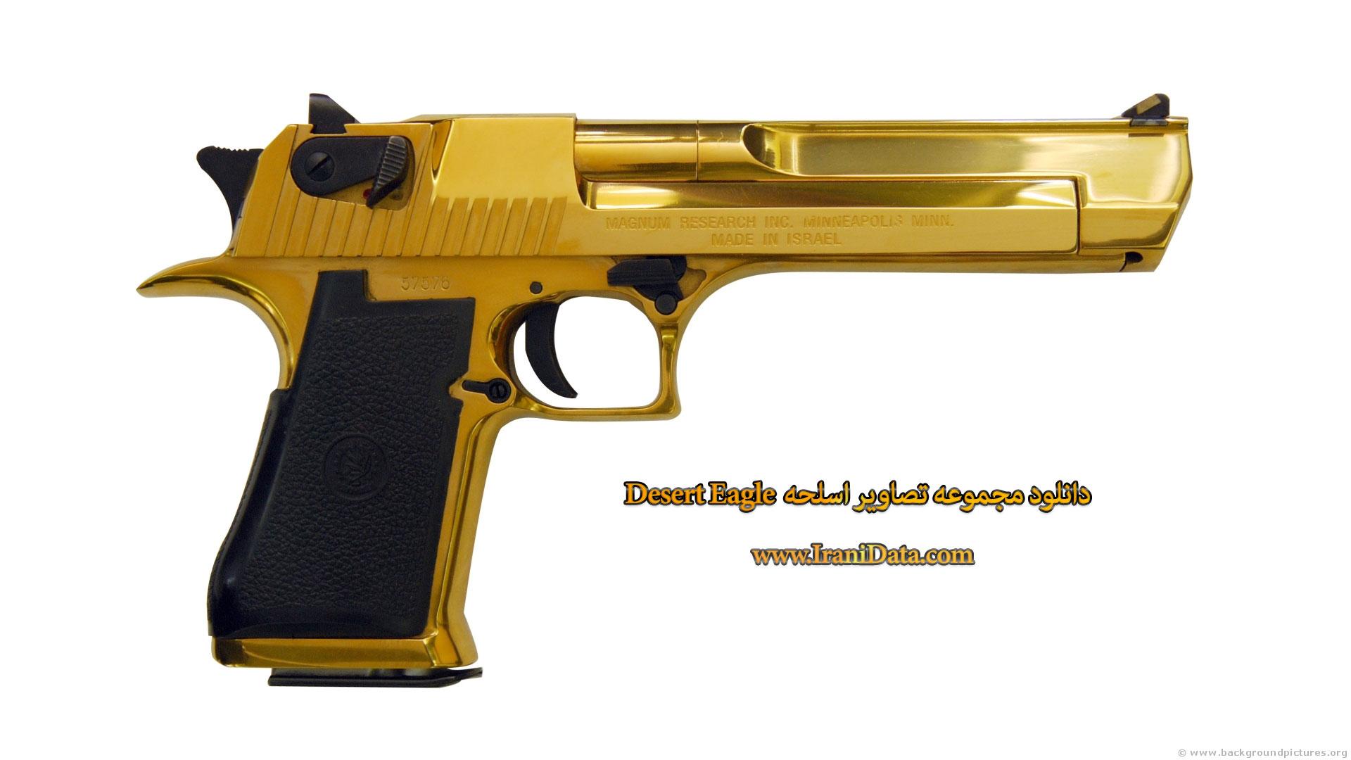 مجموعه تصاویر اسلحه دیزرت ایگل – Desert Eagle