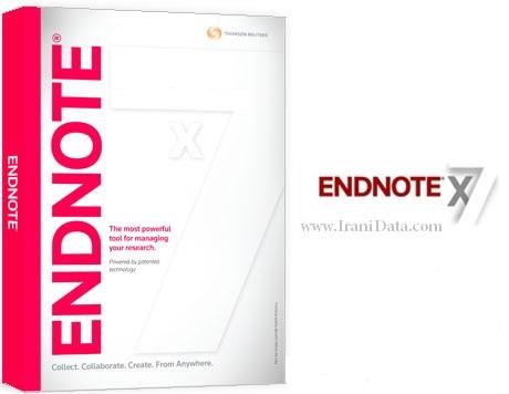 دانلود نرم افزار Endnote ورژن 7 با لینک مستقیم