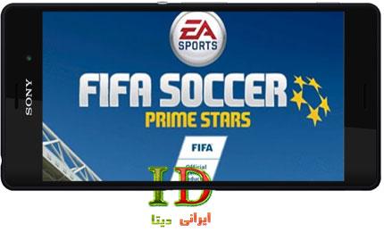 دانلود بازی FIFA Soccer: Prime Stars v1.1.5 اندروید – فیفا ساکر