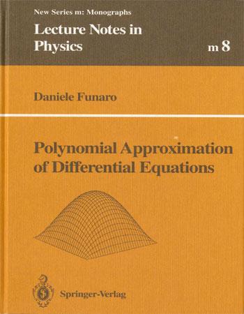 دانلود کتاب تقریب های چندجمله ای برای معادلات دیفرانسیل