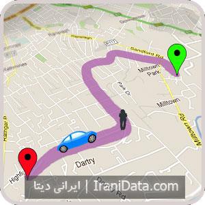 دانلود GPS Route Finder برای اندروید – برنامه مسیریابی با جی پی اس