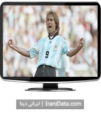 دانلود کلیپ 10 گل برتر گابریل باتیستوتا ستاره بزرگ آرژانتین