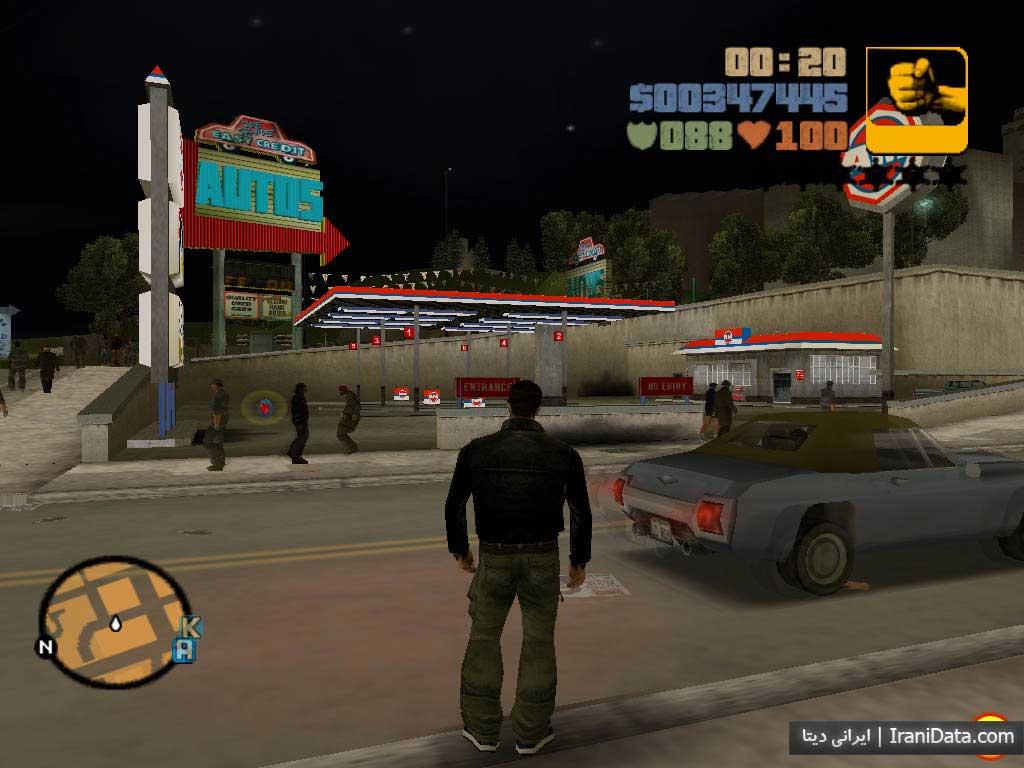 دانلود بازی Grand Theft Auto 3 نسخه دوبله فارسی