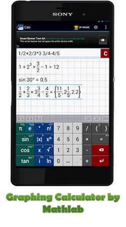 دانلود برنامه Graphing Calculator (ماشین حساب گرافیکی) برای اندروید