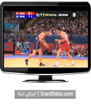 دانلود کشتی حمید سوریان و بایراموف آذربایجانی در المپیک 2012 لندن