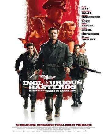 دانلود فیلم Inglourious Basterds 2009 دوبله فارسی - پست فطرت های لعنتی