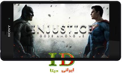 دانلود Injustice Gods Among Us v2.9 + MOD – بازی مبارزه ای اندروید