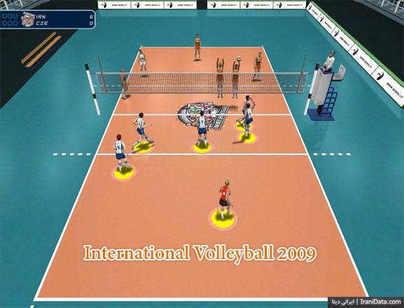 دانلود بازی International Volleyball 2009 برای PC