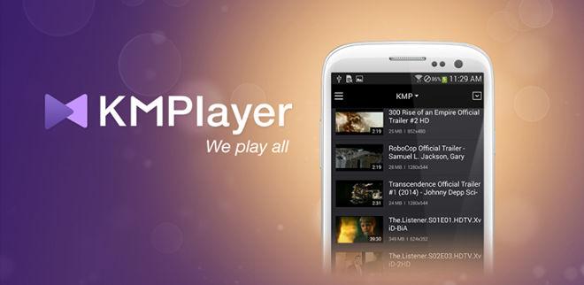 دانلود KMPlayer android v1.7.6 پلیر قدرتمند برای اندروید