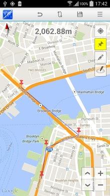دانلود برنامه Maps Distance Calculator (محاسبه فاصله از روی نقشه) اندروید