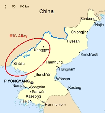 جنگ کره و آغاز نبردهای هوایی هواپیماهای جت