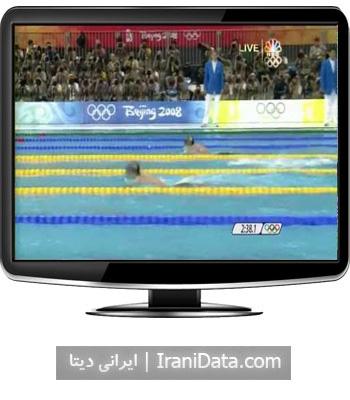 دانلود رقابت مایکل فلپس در رقابت های 400 متر شنای المپیک پکن