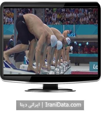 دانلود کلیپ دیدنی رقابت مایکل فلپس در رقابت های شنای پروانه المپیک 2012 لندن