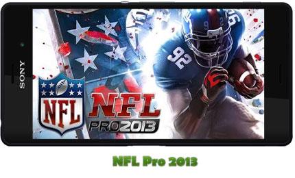 دانلود NFL Pro 2013 - بازی فوتبال آمریکایی برای اندروید