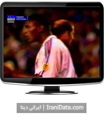 دانلود خلاصه بازی پرتغال و فرانسه در نیمه نهایی یورو 2000