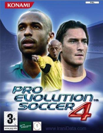 دانلود بازی Pro Evolution Soccer 2004 برای PC