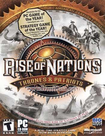 دانلود بازی Rise of Nations Thrones and Patriots دوبله فارسی