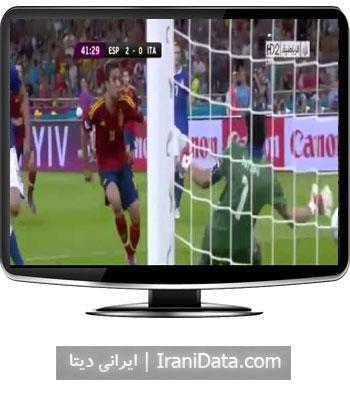 دانلود خلاصه بازی اسپانیا و ایتالیا در فینال یورو 2012
