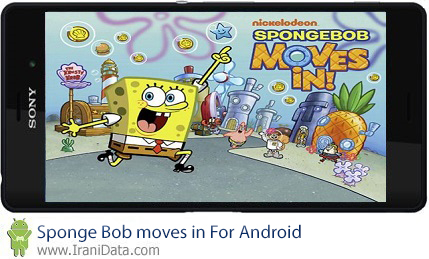 بازی Sponge Bob moves in