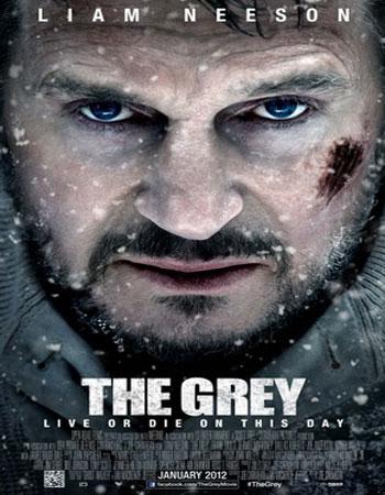 دانلود فیلم The Grey 2012 دوبله فارسی – خاکستری با لینک مستقیم