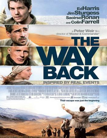 دانلود فیلم خارجی راه بازگشت دوبله فارسی – The Way Back 2010