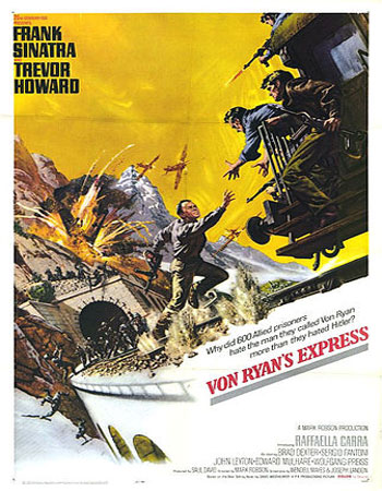 Von Ryan's Express - قطار سریع السیر فون راین