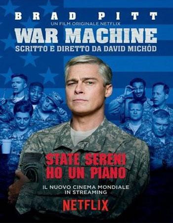 دانلود رایگان فیلم ماشین جنگی دوبله فارسی – War Machine 2017