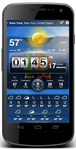 دانلود Weather Live 4.2 – برنامه هواشناسی برای اندروید