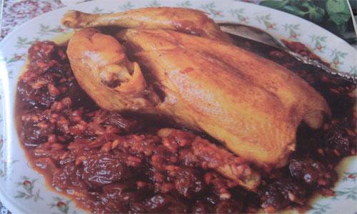 طرز تهیه غذاهای شمالی (اناردون پهلو)