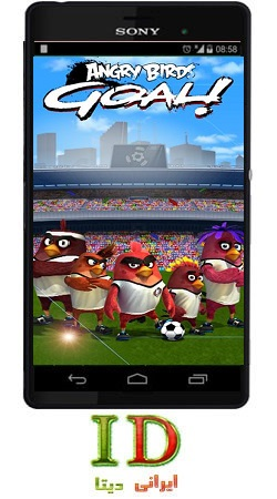 دانلود بازی انگری بردز گل (Angry birds Goal) برای اندروید