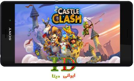 دانلود بازی Castle Clash v1.2.88 + MOD اندروید – کستل کلش