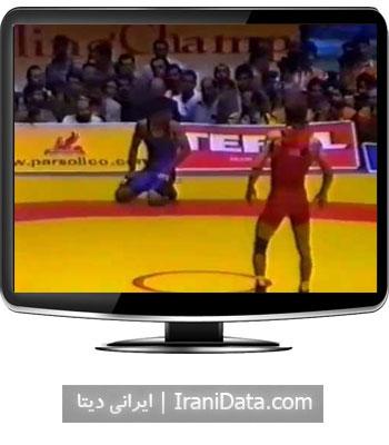 دانلود کشتی علیرضا دبیر و آلبروس تدیف در فینال مسابقات جهانی 2002 تهران
