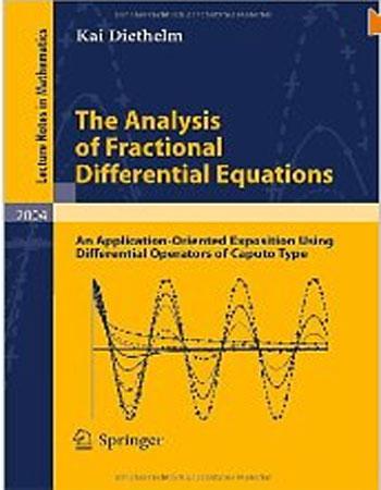 دانلود کتاب آنالیز معادلات دیفرانسیل کسری نوشته دیتلم