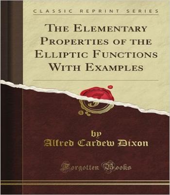 دانلود کتاب جزییات بنیادی از توابع بیضوی با مثالها