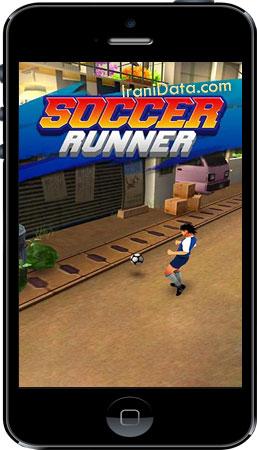 دانلود بازی Soccer Runner: Football Rush برای اندروید