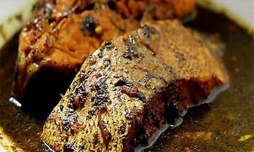 طرز تهیه غذاهای دریایی (قلیه ماهی)
