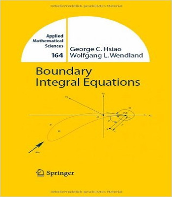 دانلود کتاب معادلات انتگرال مرزی